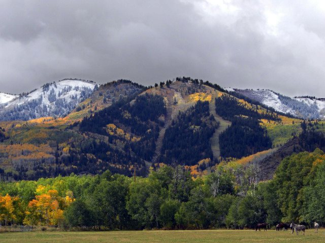Mountains in Fall